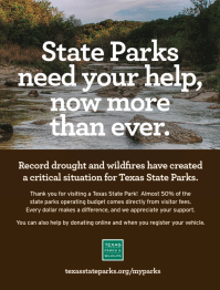 State Parks need your help, now more than ever.