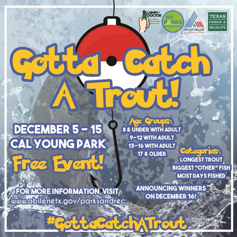 Trout Fest 2020 poster