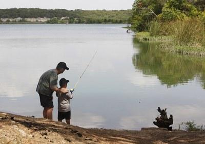 Pesca en Cleburne