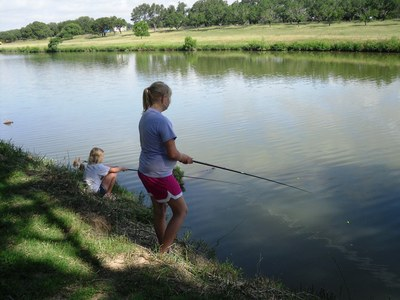 Fishing Day at LBJ State Park