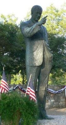 Statue of Lyndon B. Johnson