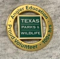 volunteer 100 hour pin award