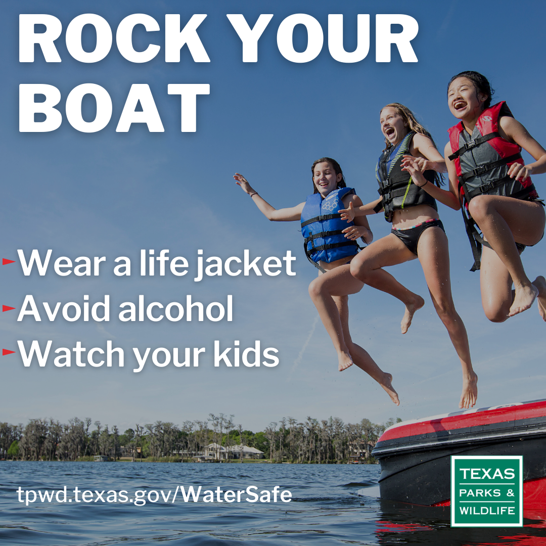 Rock Your Boat - Wear a life jacket, avoid alcohol and watch your kids