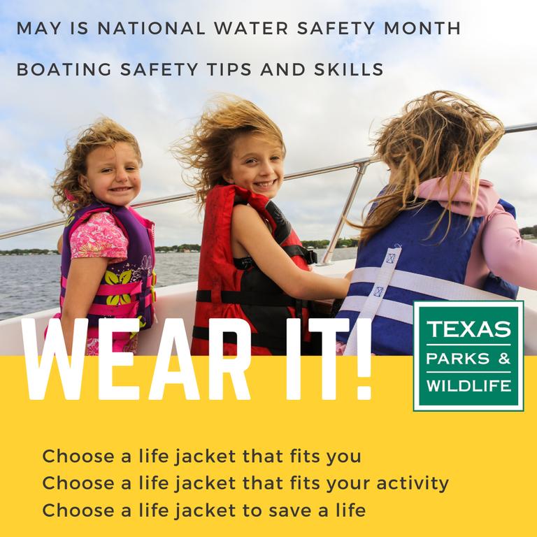 Wear it! Life jackets save lives.