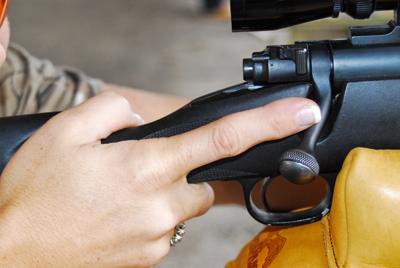 finger off trigger