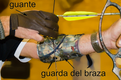 archery glove and armband