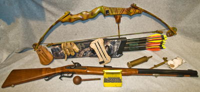 Primative hunting equipment