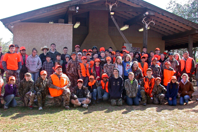 Youth Hunt participants