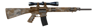 Military style semi-automatic rifle