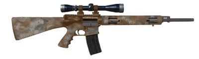 Military style semi-automatic rifle