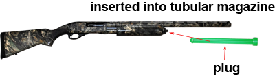 image of a pump action shotgun