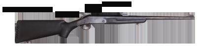 image of break action rifle