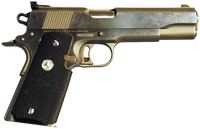 image of semi-automatic pistol