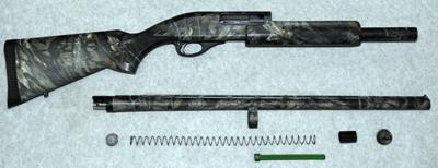Shotgun disassembly