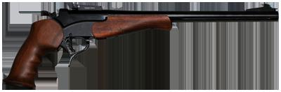 image of break action pistol