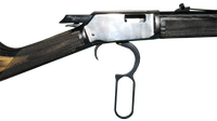 image of open lever action
