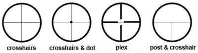 Reticles-horizontal