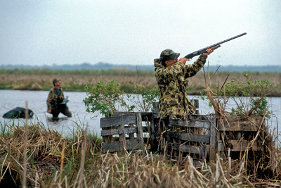 Duck Hunting Blinds