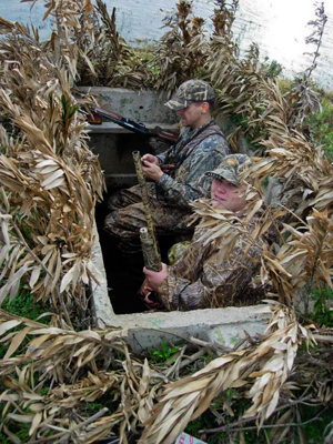 Coffin Blind Plans Layout Waterfowl Amazing Sharp Project On