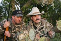 Hunters rattling antlers
