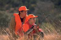 Hunters wearing Blaze Orange