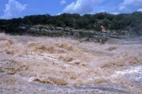 Flooding at Pedernales Falls State Park
