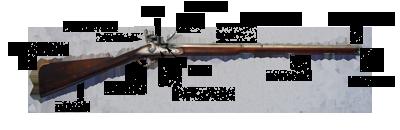 diagram of flintlock muzzleloader