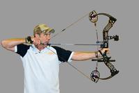 Compound bow draw