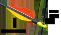 nocked arrow