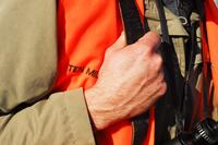 close-up of shoulder strap