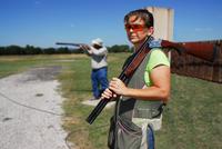 Range shoulder carry