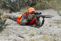 Hunter prone
