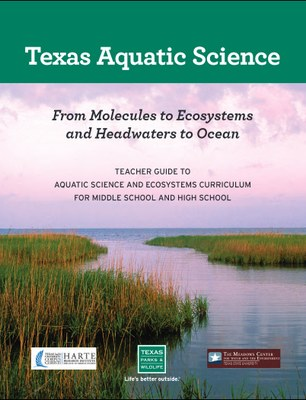 Texas Aquatic Science Textbook cover