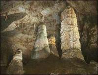 Stalgmites Carlsbad