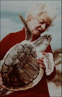 Ila Loetscher with Turtle 2