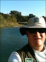 Greg Southard at South Llano River State Park