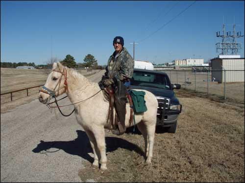 Greg Conley on Pony