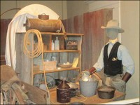 Chuck Wagon Exhibit