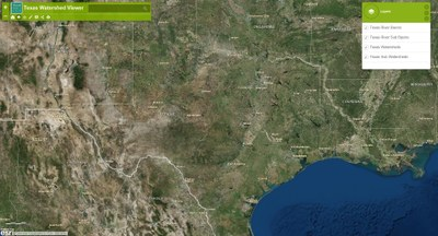 Map 31 Texas River Basins.Texas Watershed Viewer Texas Parks Wildlife Department
