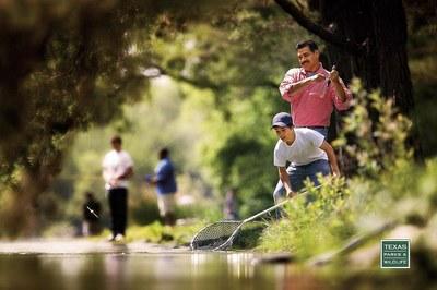Pesca con una red