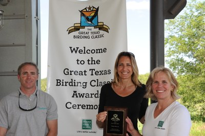 caption:Awards from 2013 Birding Classic