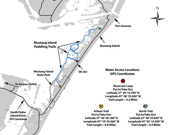 Island Beach State Park Fishing Map