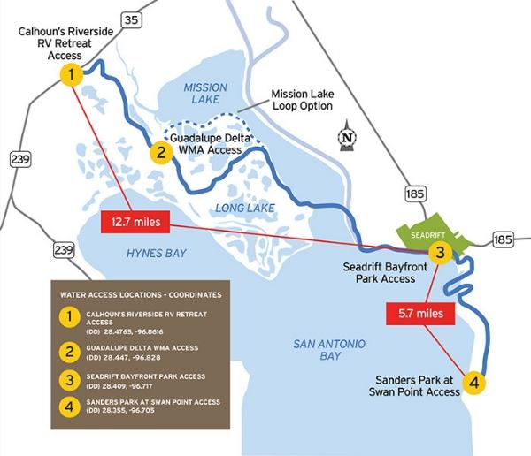 TPWD: Seadrift Paddling Trail