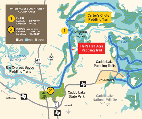 TPWD: 's Half Acre Paddling Trail | | Texas Paddling Trails on pontotoc lake map, woodward lake map, tawakoni lake map, seminole canyon map, mead lake map, degray lake map, wyandot lake map, mountain creek lake map, pedernales state park satilite map, caney creek reservoir map, el reno lake map, woods lake map, weatherford lake map, livingston lake map, lake fork map, murray lake map, jim chapman lake map, coleman lake map, marshall tx city map, brandy branch reservoir map,