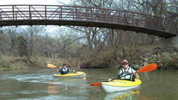 Tpwd Joe Pool Lake And Walnut Creek Texas Paddling Trails