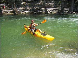 Tpwd Upper Guadalupe Nichol S Landing Paddling Trail