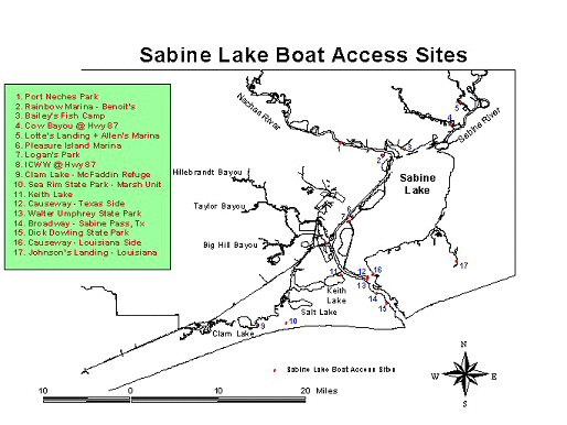 TPWD: Short Article: Sabine Lake fishing Forecast