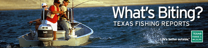 texas parks and wildlife department fishing reports