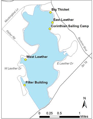 White Rock Lake Access
