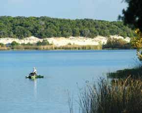 Fishing cleburne state park lake for Lake waco fishing report
